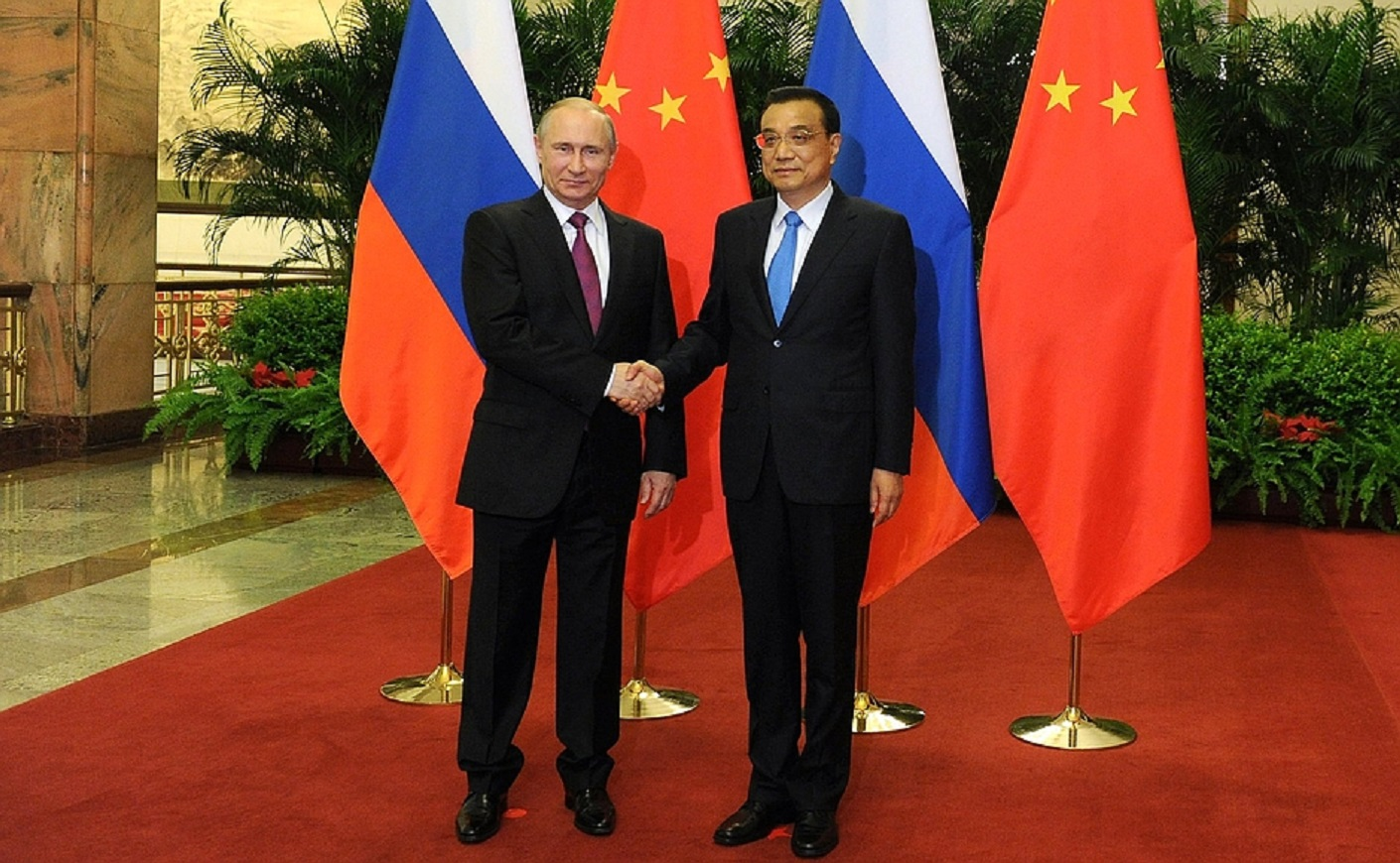 LA FEDERACIÓN de RUSIA · REP. POPULAR CHINA.